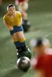 Soccer. Figurines of a miniature table game Stock Photos
