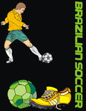 Soccer. World cup colection Vector Illustration
