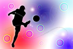 Soccer Abstract Royalty Free Stock Photos