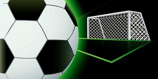 Soccer abstract background. Royalty Free Stock Image