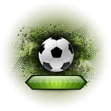 Soccer Abstract Stock Image