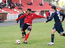Soccer Action. PLACE:ZRENJANIN, SERBIA Royalty Free Stock Photos