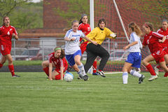 Soccer Action Stock Image