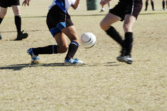 Soccer action 3 Stock Images