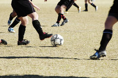 Soccer action 7 Royalty Free Stock Photos