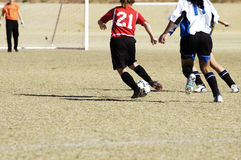 Soccer action 8 royalty free stock images