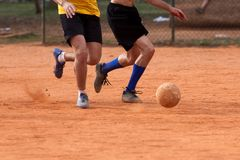 Soccer Amateur Stock Photography
