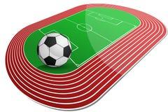 Soccer Arena Stock Photo