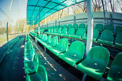 Soccer arena Royalty Free Stock Image