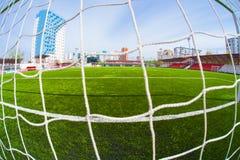 Soccer arena, stadium Royalty Free Stock Photos