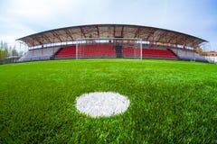 Soccer arena, stadium Royalty Free Stock Photography