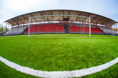 Soccer arena, stadium Royalty Free Stock Images