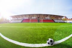 Soccer arena, stadium Stock Image