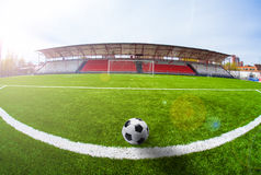 Soccer arena, stadium Royalty Free Stock Image