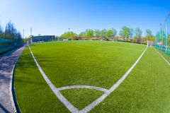 Soccer arena Stock Photography