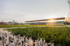 Soccer artificial turf pattern Royalty Free Stock Photos