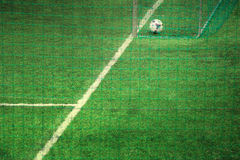 Soccer artistic background Royalty Free Stock Photography