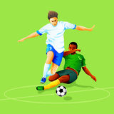 Soccer attack Stock Images