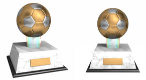 Soccer award Royalty Free Stock Image