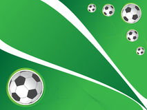 Soccer background. With beautiful colors Royalty Free Stock Photography