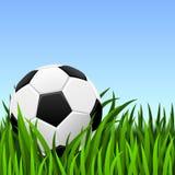 Soccer background royalty free illustration