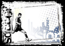 Soccer background 2 vector illustration