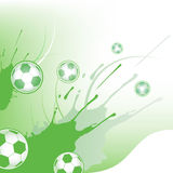 Soccer  background. Royalty Free Stock Images