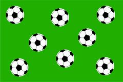 Soccer background Stock Image
