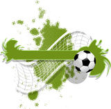 Soccer Background Stock Images