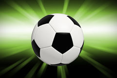 Soccer background Stock Photo