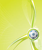 Soccer background Stock Photography