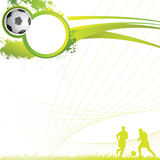 Soccer background. Vector abstract background,soccer poster Royalty Free Stock Photo
