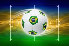 Soccer background Stock Image