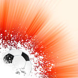 Soccer background with copyspace. EPS 8 Stock Photos
