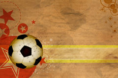 Soccer background design Stock Photo