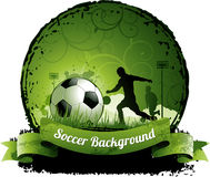 Soccer background vector illustration