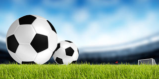 Soccer background. Soccer and football sport background Royalty Free Stock Image