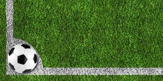 Soccer background Stock Photo