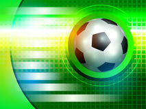 Soccer background Royalty Free Stock Photos