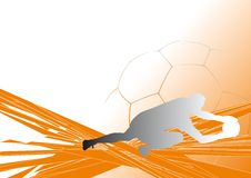 Soccer-background4 Foto de Stock Royalty Free