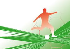 Soccer-background5 Imagem de Stock Royalty Free