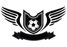 Soccer badge emblem Royalty Free Stock Photography
