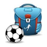 Soccer bag Stock Image