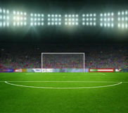 Soccer bal.football, Royalty Free Stock Images
