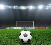 Soccer bal.football, Royalty Free Stock Photos