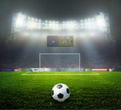 Soccer bal.football, Royalty Free Stock Image