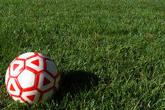 Soccer_ball _1 stockbilder