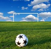 A soccer ball Royalty Free Stock Images