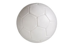 Soccer ball. Isolated on white background, clipping path included royalty free stock images