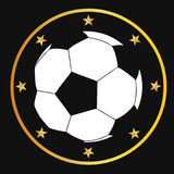 Soccer Ball. Vector illustration of a soccer ball Stock Photography